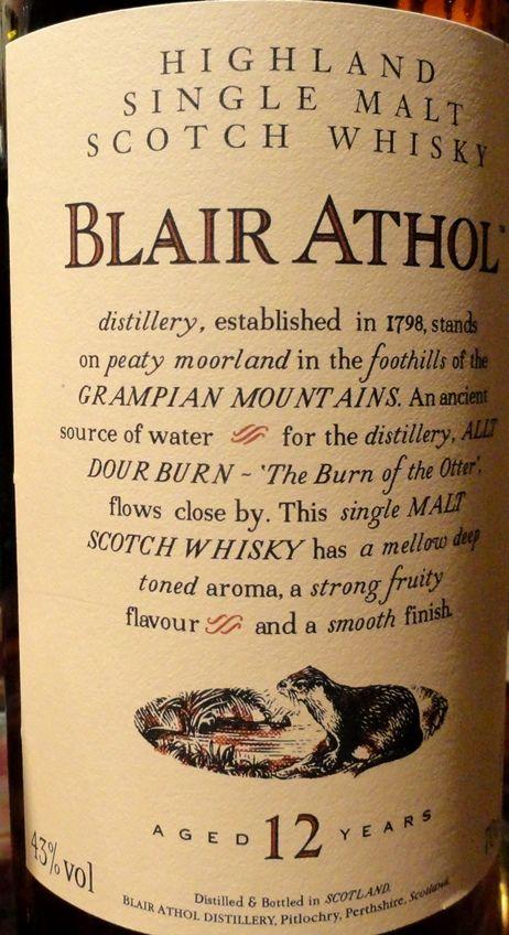Blair Athol 12yo 43%