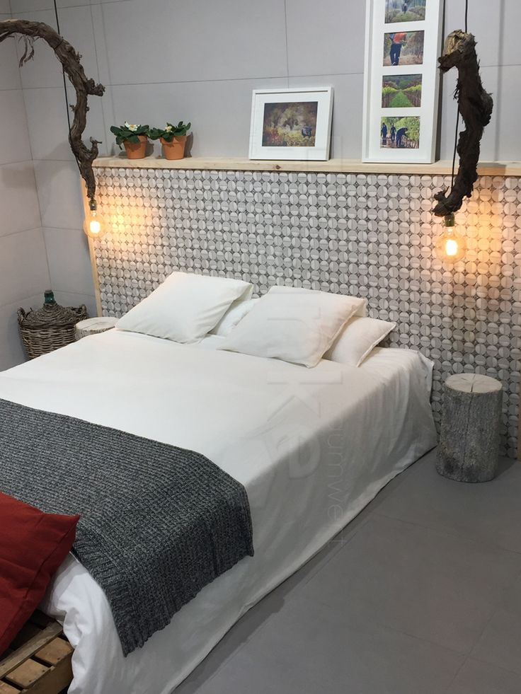 Das Einsetzen Von Verschiedenen Materialien Macht Einen Raum Erst Lebendig # Schlafzimmer #