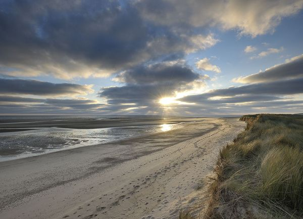 Holkham Beach, Norfolk.