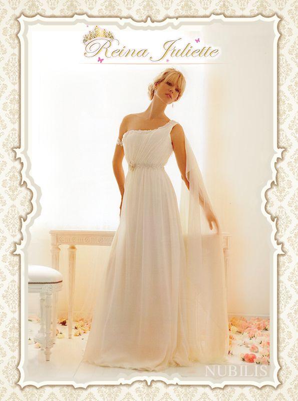 Vestido de novia estilo romano Reina Juliette