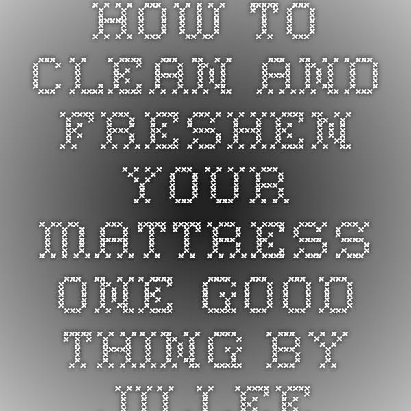 how to clean urine from mattress quickly