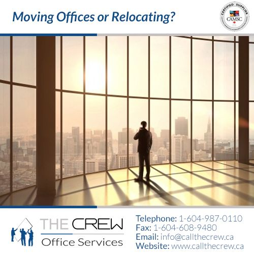 Don't hire just anyone to deal with your office transfer needs. The Crew has years of experience in reconfiguring office furniture, space planning and office moves and relocations. Whether it's overnight, over the weekend or holidays with the minimum of interruption to your business.