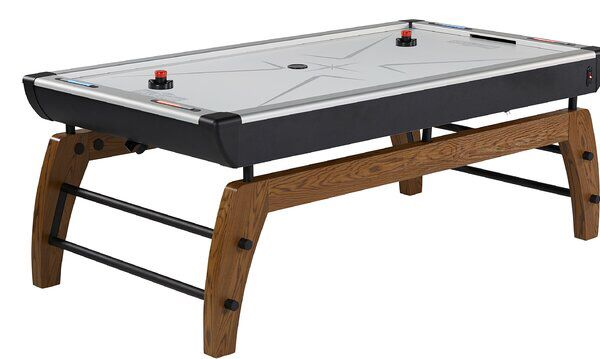 Hall Of Games 84 Two Player Air Hockey Table With Digital Scoreboard And Lights Air Hockey Table Foosball Table Design Hall Of Game