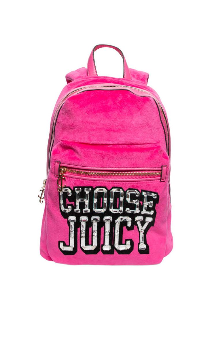 Ryggsäck Choose Juicy PINK - Juicy Couture - Designers - Raglady