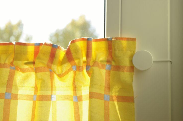 4Gardine Gardinendraht bedestigung set und Halloween-Kürbis - küchengardinen mit schlaufen