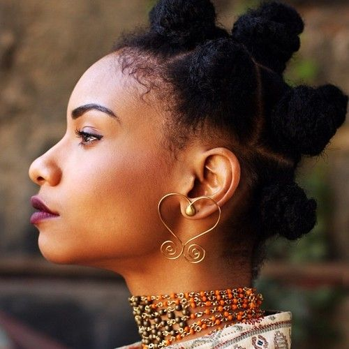 Image result for stylish bantu hairstyle