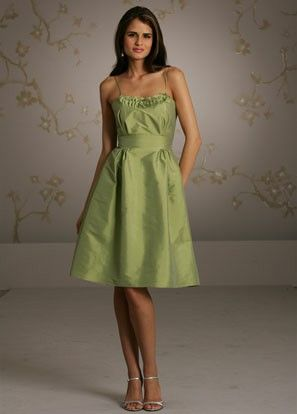 bridesmaid dress but without the straps