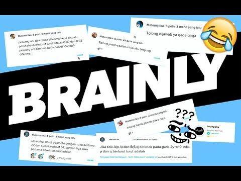 Jawab Pertanyaan Matematika Di Brainly Co Id Indonesia Youtube Matematika Belajar Youtube