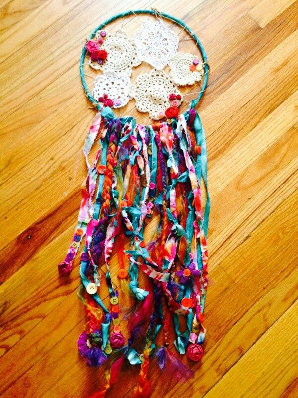 Dream catcher DIY perfect present Like idea of knotted