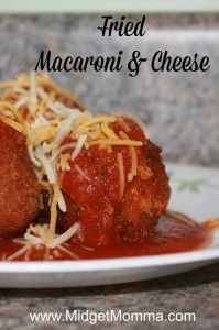 If you like the Cheesecake Factory Fried Mac and cheese you are going to LOVE these. They are a copycat but with my own little twist. My kids actually prefer these over the ones at the restaurant. Using homemade macaroni and cheese you can make fried mac and cheese easily at home!