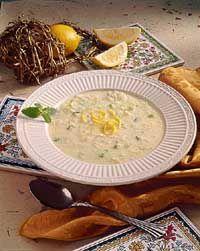 Greek lemon & rice soup