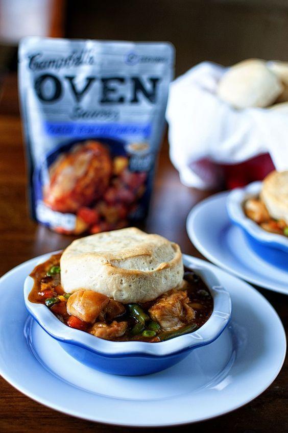 Campbell's Oven Sauce Chicken Pot Pie 06