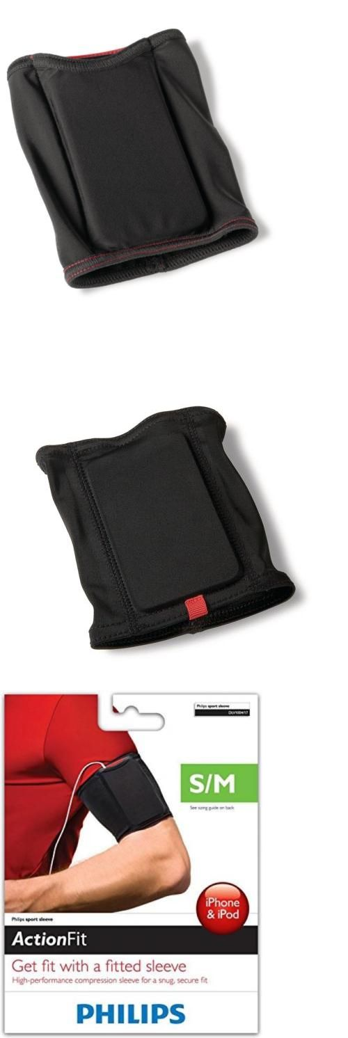 Armbands: Philips Dlv1004 17 Action Fit Sport Sleeve For Mp3 And Mobile Phone, Black (S M) -> BUY IT NOW ONLY: $30.55 on eBay!