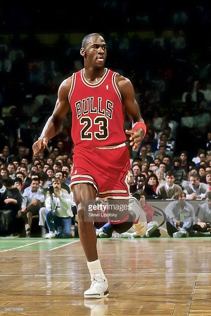 detailed look 0b5ff 5c247 Fotografia de notícias   Chicago Bulls Michael Jordan duirng game vs.