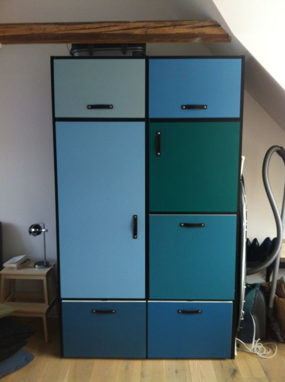 DIY IKEA ODDA dresser