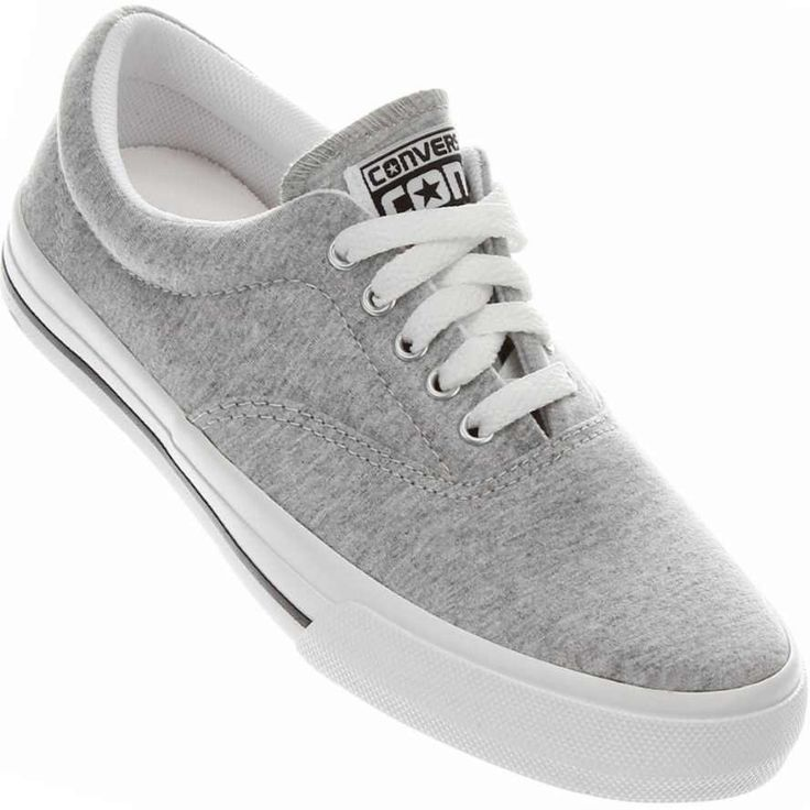 Tênis Converse All Star Skidgrip CVO Cotton Casual Feminino Cinza