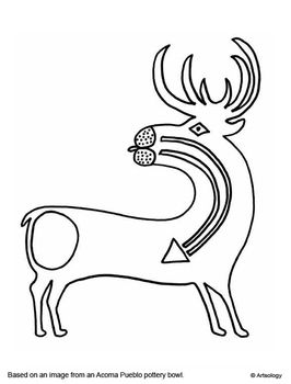 sioux coloring pages - photo#3