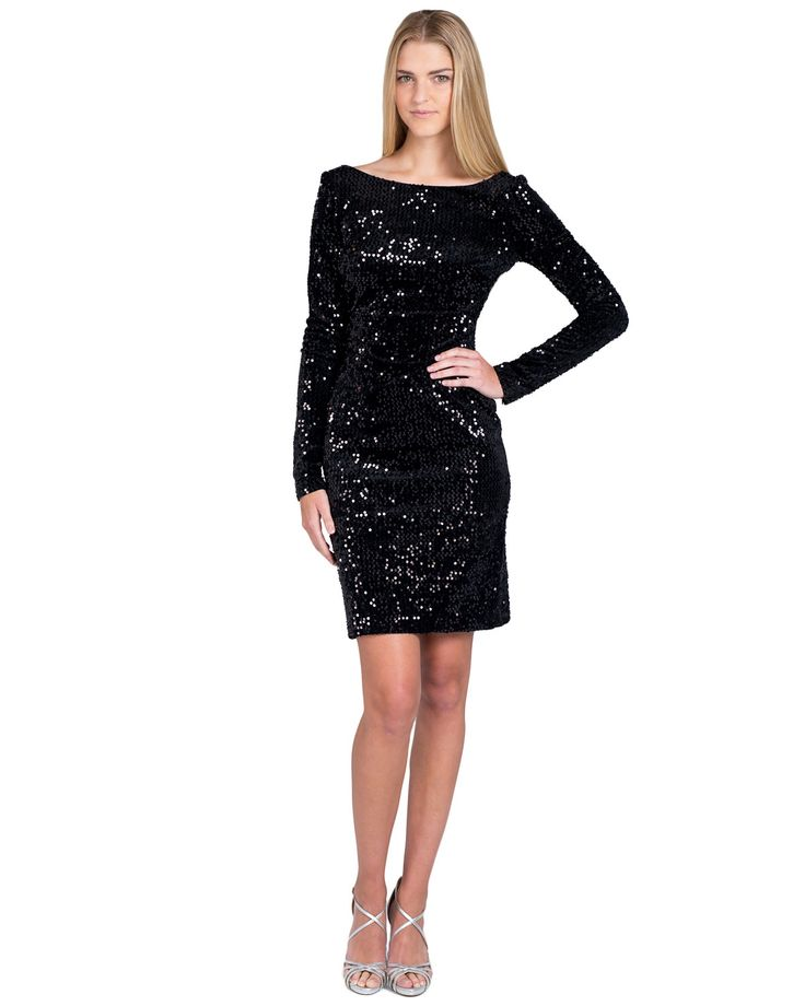 sequin-cocktail-dress