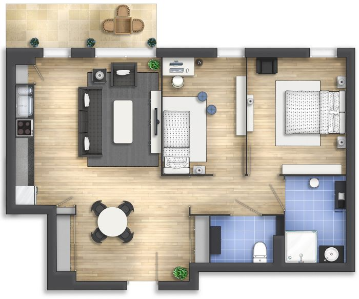 160 best planos images on Pinterest Small houses, Small homes and - plan maison 3d gratuit
