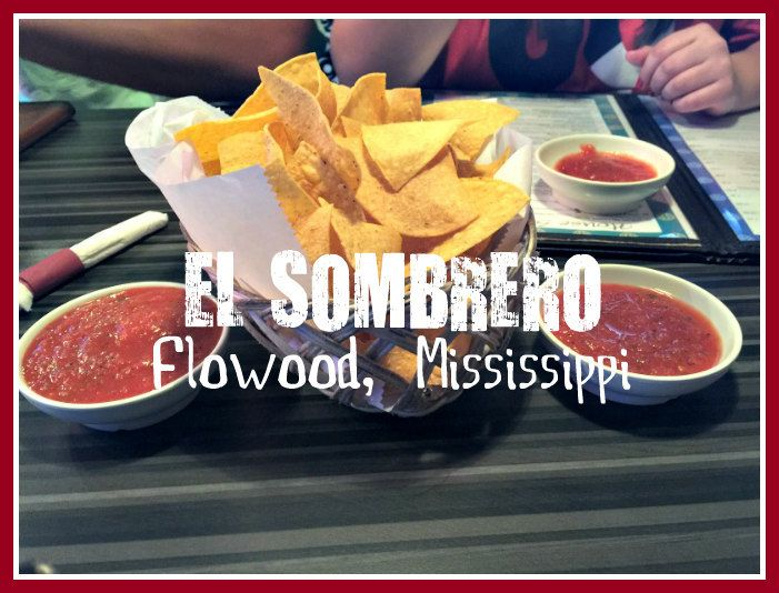 My family and I are all Mexican food junkies. Here is Taylor's favorite Mexican restaurant in Flowood, Mississippi. El Sombrero has great margaritas, salsa, and cheese dip, all of the staples! http://www.whereverimayroamblog.com/flowoods-el-sombrero-mexican-fare/