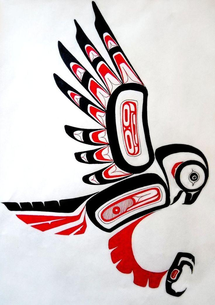 native american deviantart animals replication eagle northwest haida coast inuit arte indian owl west symbols bird kunst tribal canadian nativi