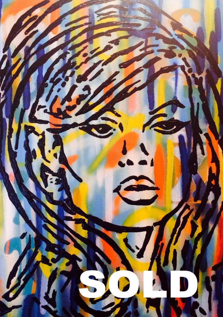 Urban Warrior - SOLD by McDonald | PLATFORMstore. Painting on Board