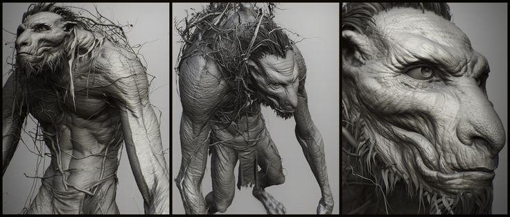 Swamp creature by Alessandro Baldasseroni | Creatures | 3D | CGSociety