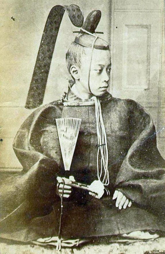 Prince of Mito, Tokugawa Akitake (1853-1910),  a younger brother of the Japanese Shogun Tokugawa Yoshinobu.