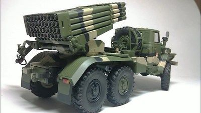 Trumpeter 1/35 Russian BM-21 Grad Multiple Rocket Launcher (CUSTOM BUILT)