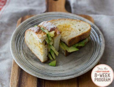 IQS 8-Week Program - Toastie with Avocado and Cheese. So simple but so deliciously satisfying!
