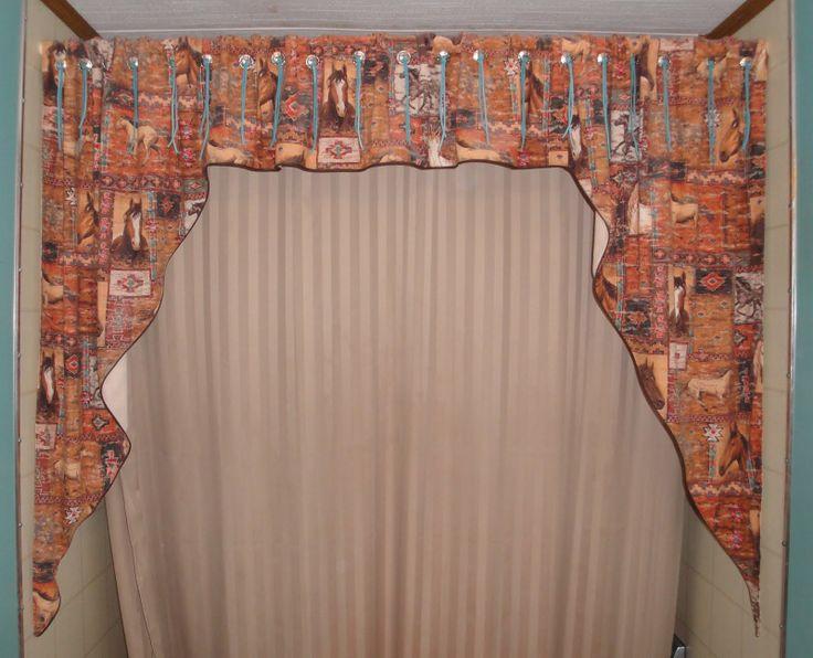Designer Shower Curtains With Valance | Decoration Empire