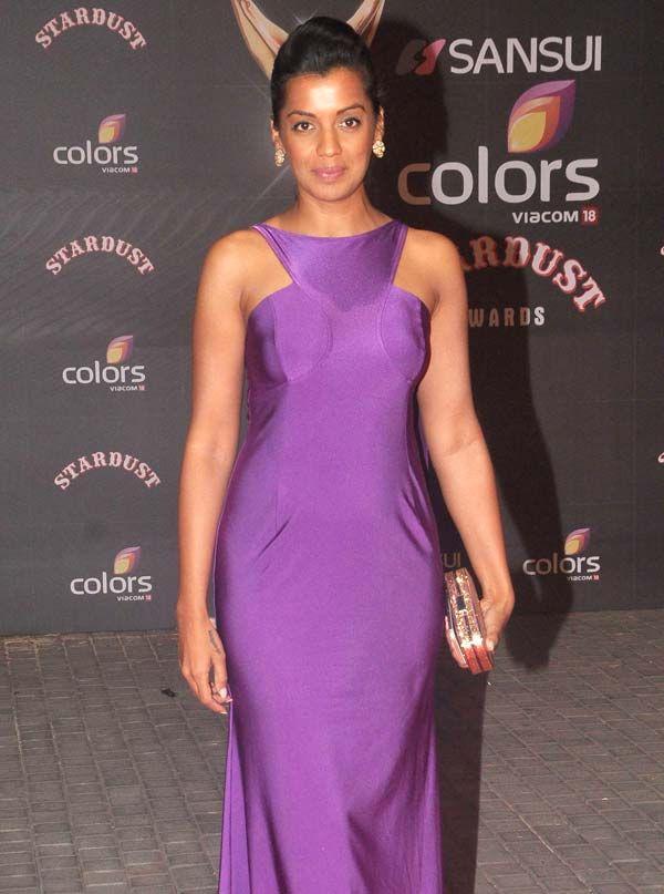 Mugdha Godse at the Stardust Awards 2015. #Bollywood #StardustAwards2015 #Fashion #Style #Beauty #Hot #Sexy #Marathi
