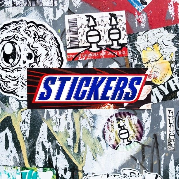 Best StickersD Images On Pinterest - Car sticker designripped open gash torn metal design with evil eye monster looking
