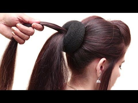 Trendy Hairstyle For Party Wedding Function Hair Style Girl