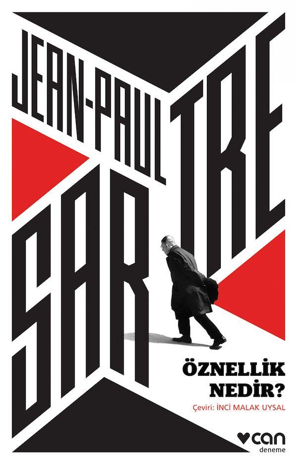 What is Subjectivity? - di Jean-Paul Sartre - Pubblicato da Can Publishing - Copertina realizzata da Utku Lomlu dello studio Lom creative