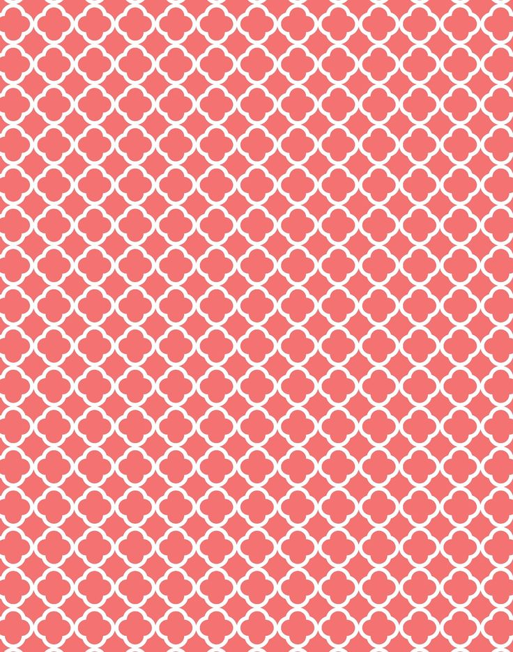 Coral Quatrefoil Pattern Jpg 1257 215 1600 Patterns