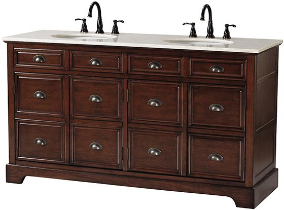 38 best beautiful bathrooms images on pinterest beautiful bathrooms double sink vanity and for Apothecary style bathroom vanity
