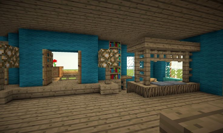 Victorian House in a different colour Minecraft Project: interior from house before