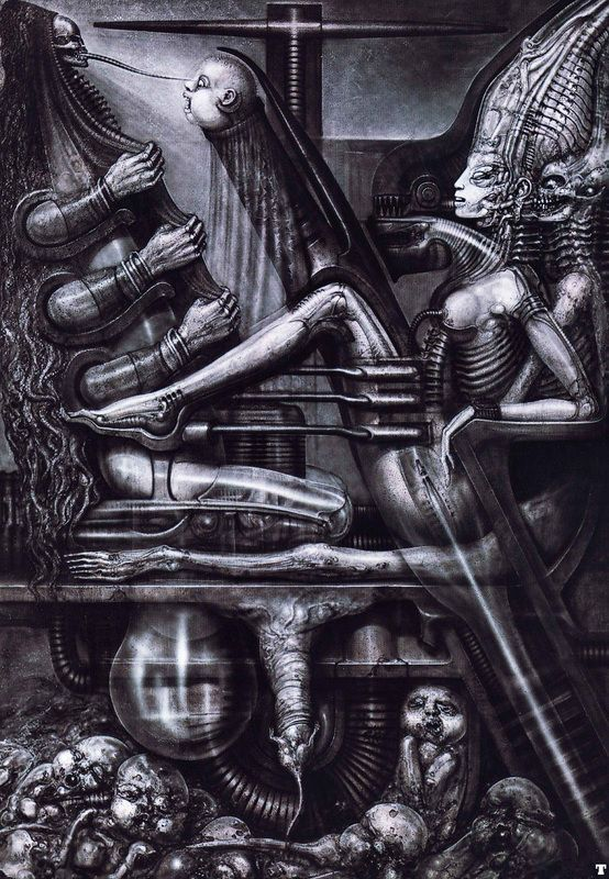H R GIGER - VISIONARY ART GALLERY