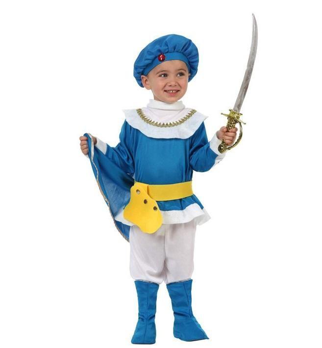 Disfraz Príncipe azul niño