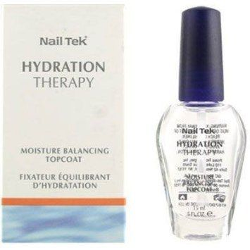 Nail Tek Hydration Therapy Moisture Balancing TopCoat 15ml05oz * More info could be found at the image url.