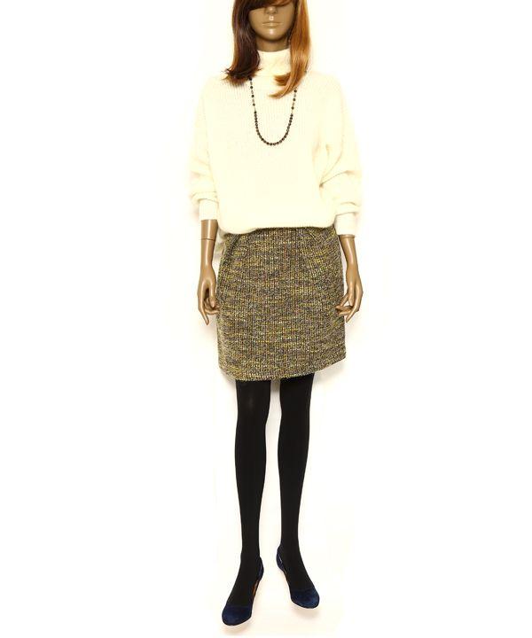 ジャガードスカート #シータ・ミュー