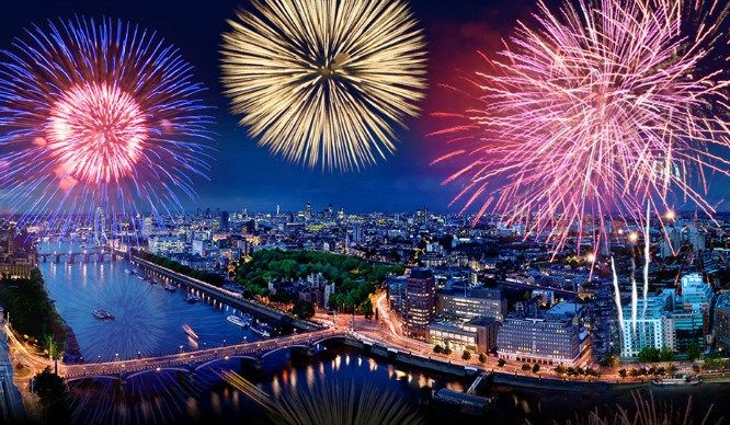 6 High-Rise Restaurants With Breathtaking Views Of London's NYE Firework Display