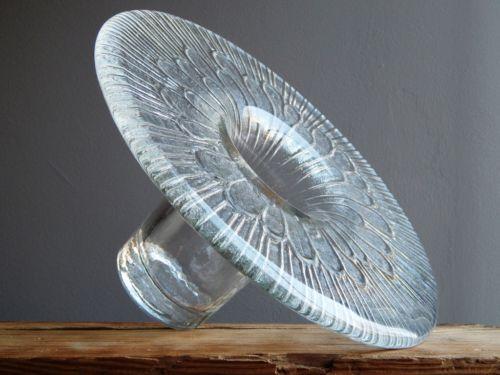 2 6 KG Vintage 1960 70's Iittala T Ice Glass Vase Finnish Art Fat Lava Era | eBay