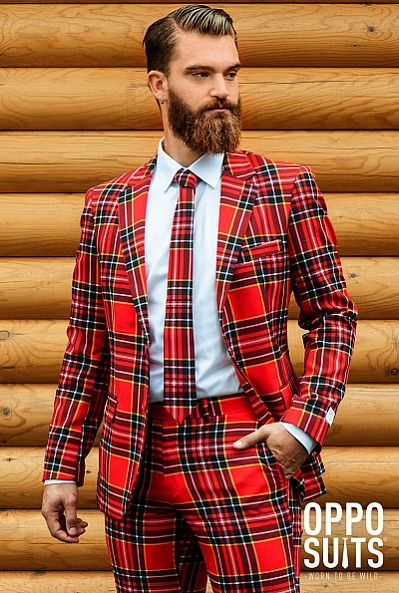Well-fitted ugly christmas sweater costume / suit. $99.95. Fast Delivery. High Quality. The Lumberjack - OppoSuits - OppoSuits