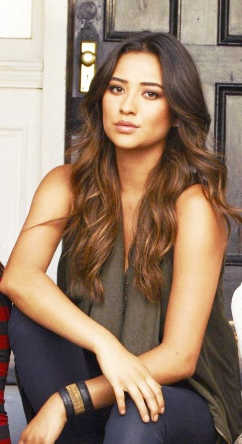 Shay Mitchell as Emily Fields--Pretty Little Liars