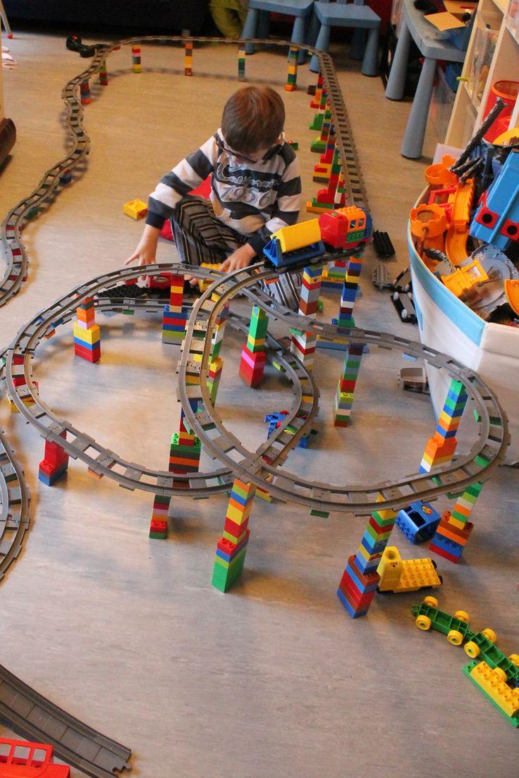 Idea of Lego duplo train