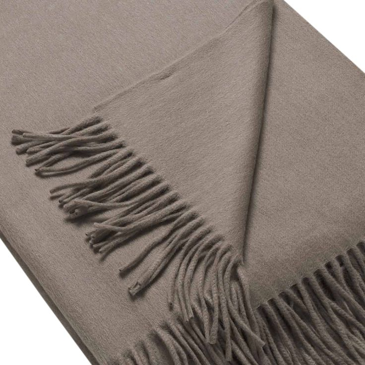 Buy JH Lambswool/Angora Throw Stag by Josephine Home - Made-to-Order designer Accessories from Dering Hall's collection of Traditional Throws.