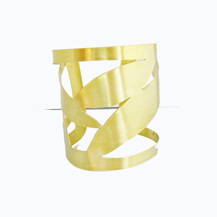 Cuff Bracelet READY TO SHIP wanderlust   Bamboo leaf    Bohemian bracelet Wide Cuff Ladies Jewelry   brass   Brass Cuff Bracelet by arwcreation on Etsy