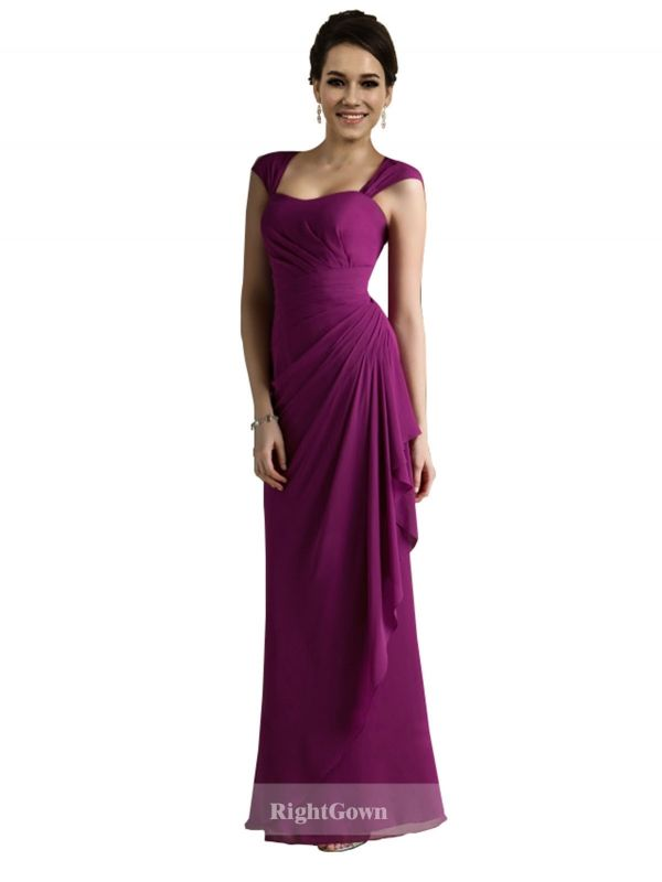 Cheap Right Gowns New 2018 Style Long Chiffon Strapless Bridesmaid Dresses 172039, Right Bridesmaid Dresses, Cheap Bridesmaid Dresses and Buy Discount Bridesmaid Dresses2018